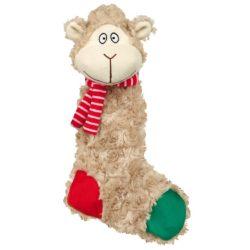 Karácsi plüss bárány és szamár 32cm