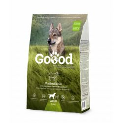 Goood szárazeledel felnőtt kutyáknak - szabadon tartott bárányból 3 féle kiszerelésben AKCIÓ! AJÁNDÉK JUTALOMFALAT 08.05-ig!