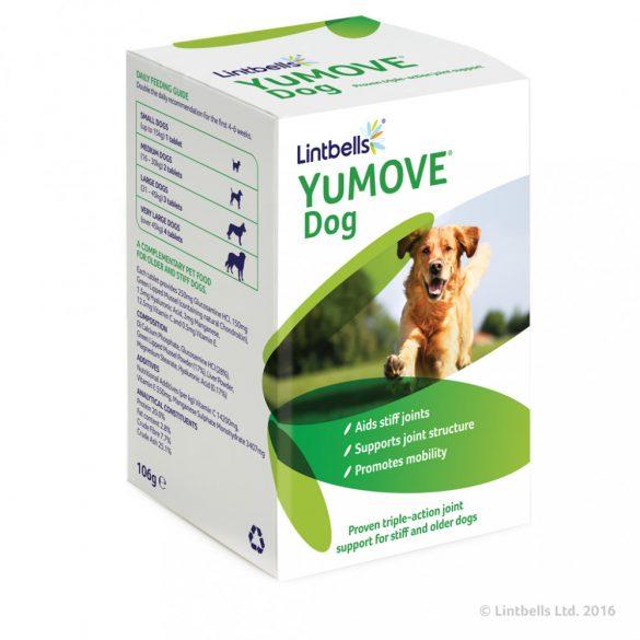 YuMOVE Dog – 60db vagy 120db Hármas porc- és ízületvédő hatás gyenge csontozatú és idősebb kutyák számára.