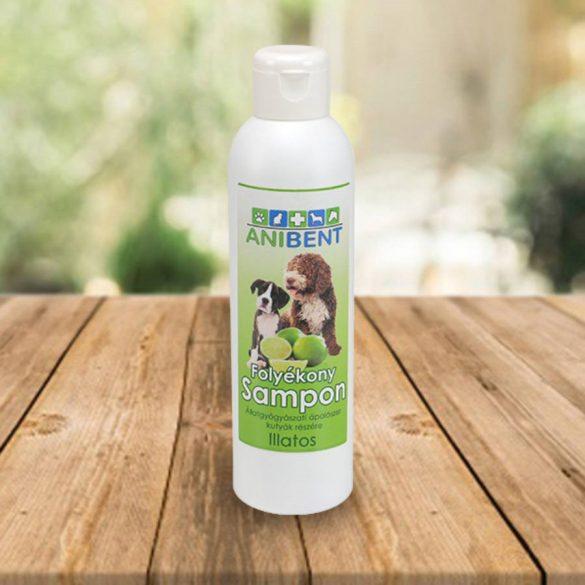 Anibent folyékony sampon kutyáknak - zöldcitrom illatú 200 ml