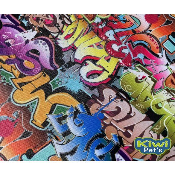 Kiwi Pet's LIMITÁLT nyári vízlepergetős fekhely graffiti mintával 2 méretben