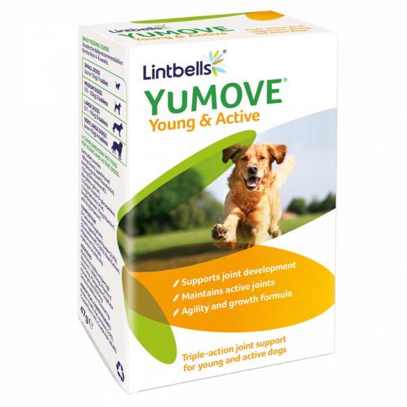 YuMOVE Young & Active – 60 db Hármas porc- és ízületvédő hatás fiatal és aktív kutyák számára.