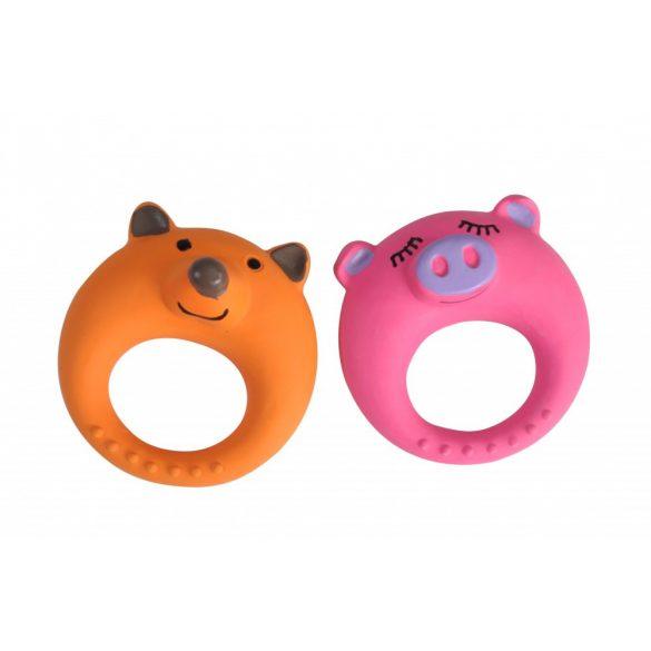 Camon latex sípolós-pig ring játék