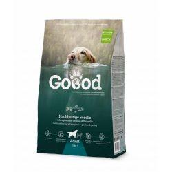 Goood szárazeledel felnőtt kutyáknak - fenntartható pisztrángból 3 féle kiszerelésben AKCIÓ! AJÁNDÉK JUTALOMFALAT 08.05-ig!