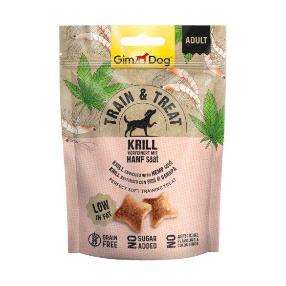Gimdog hipoallergén falatok - krill&kendermag