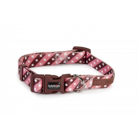 Camon Twill dot pink nyakörv