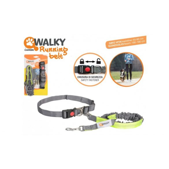 WALKY Run Leash Basic futópóráz+nyakörv