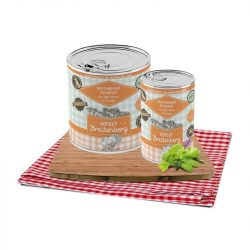 Breitenbergi pulykatál, almával, tökkel, burgonyával