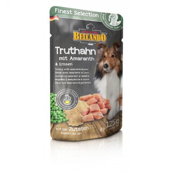 Belcando alutasakos kutyaeledel pulykahús amaránttal és borsóval