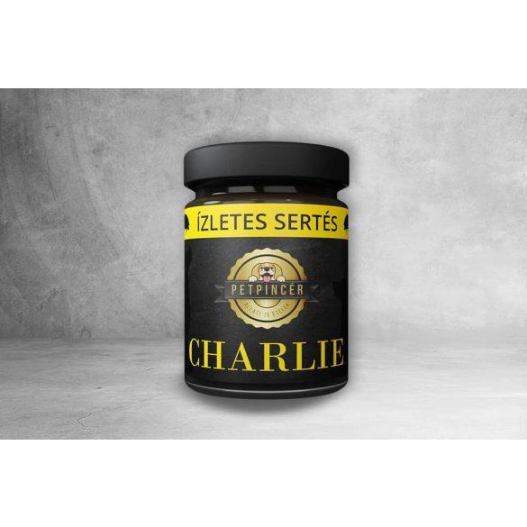 Pet Pincér főtt eledel - CHARLIE - Ízletes sertés