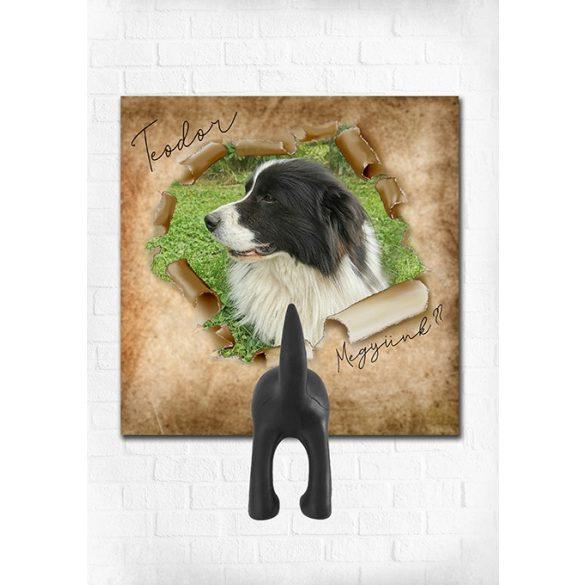 Egyedi póráztartók (kutyusod saját képével, 8 féle designnal) - 2020 legtutibb karácsonyi ajándéka