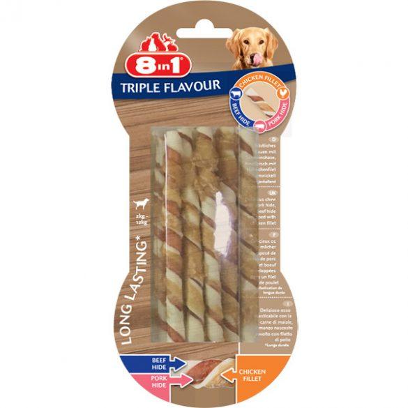 8in1 Triple Flavour Csavart rágórudak