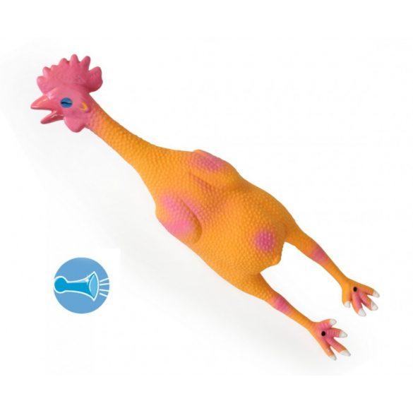 Latex sípolós csirke 52cm