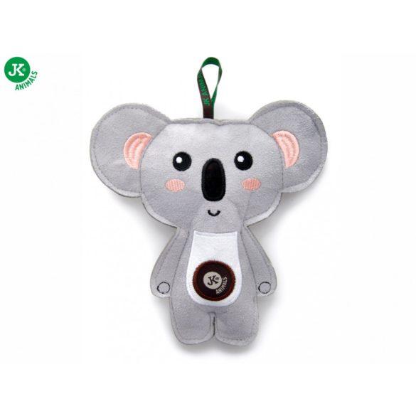 Koala, erős textíl anyagből, sípolós 18cm