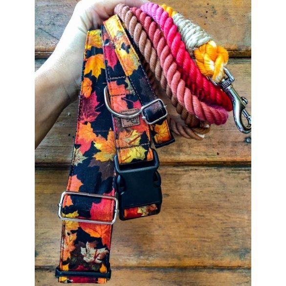 Delight's Dog Design őszi leveles nyakörvek