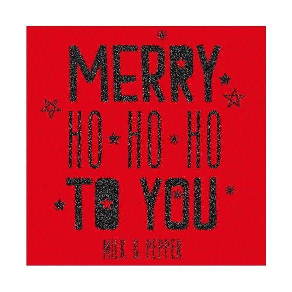 Milk&Pepper Merry karácsonyi póló