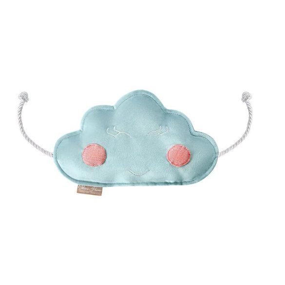 Felhőcske zörgős játék kék