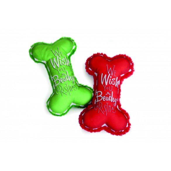 Karácsonyi játék csontok 2 színben 9cm