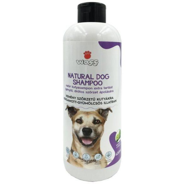 Waff natúr kutyasampon drótszőrű kutyáknak – bergamott gyümölcs