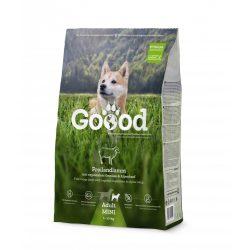 Goood szárazeledel felnőtt kistestű kutyáknak - szabadon tartott bárányból 2 féle kiszerelésben