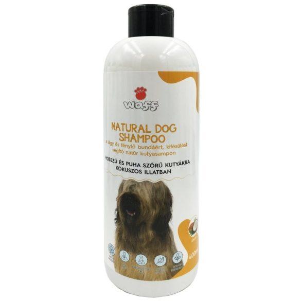 Waff natúr kutyasampon hosszú és puha szőrre – kókusz