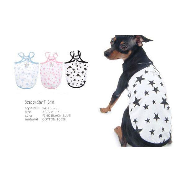 Puppy Angel csillagos trikó fekete-fehér S