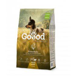 Goood szárazeledel felnőtt kistestű kutyáknak - szabadon tartott csirkéből 2 féle kiszerelésben AKCIÓ! AJÁNDÉK JUTALOMFALAT 08.05-ig!