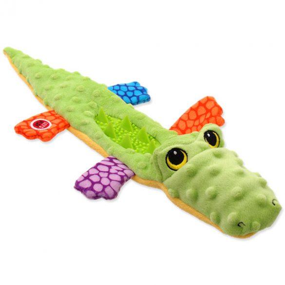Let's play sípolós-zörgős krokodil 45cm
