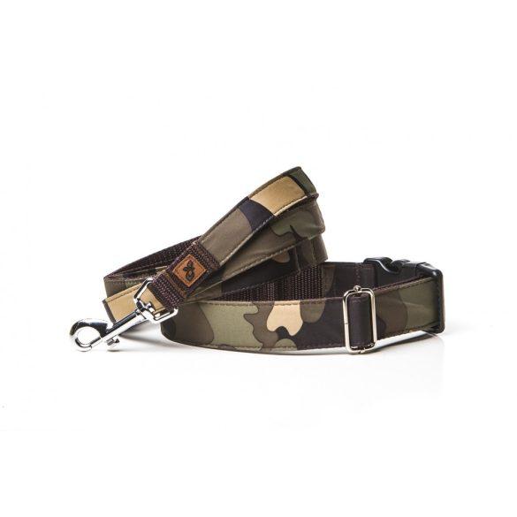 Delight's Dog Design terepmintás nyakörvek