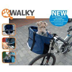 Kisállathordozó biciklire 42*30*25 cm 7 kg terhelhetőség
