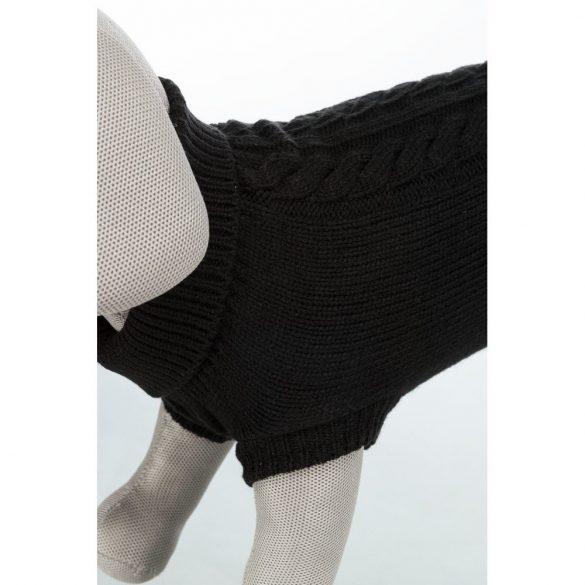 Trixie Kenton kötött pulcsi fekete