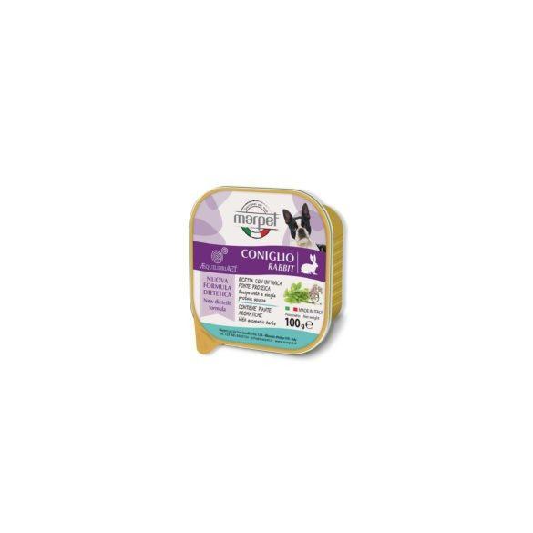 Marpet - nyúl monoproteines diétás teljes értékű táp táplálék intolerancia csökkentésére 100gr