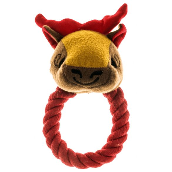 Imac játékállat gyűrűs kötéllel