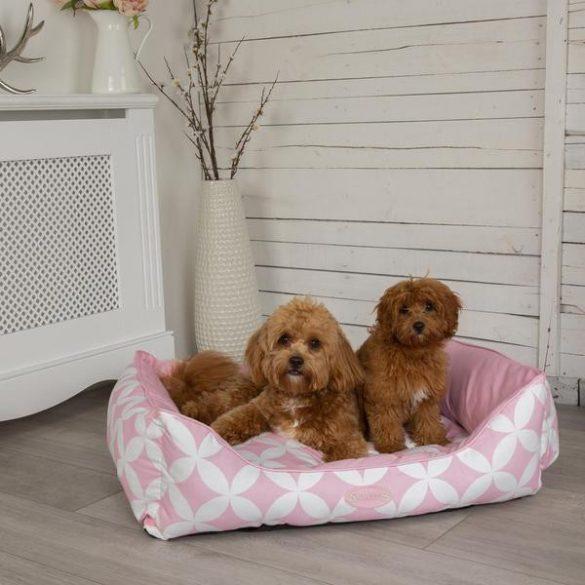 Scruffs Florence Pink kutyaágy több méretben