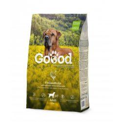 Goood szárazeledel felnőtt kutyáknak - szabadon tartott csirkéből 3 féle kiszerelésben AKCIÓ! AJÁNDÉK JUTALOMFALAT 08.05-ig!