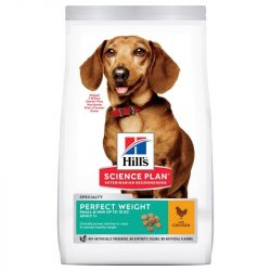 HILL'S SCIENCE PLAN ADULT PERFECT WEIGHT SMALL & MINI SZÁRAZ KUTYATÁP 1.5kg