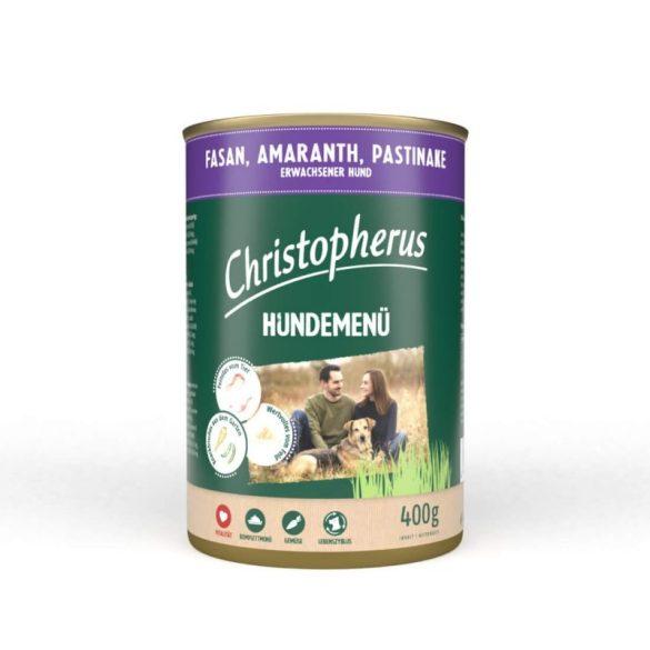 Christopherus prémium menü fácán, amaránt, pasztinák 400gr
