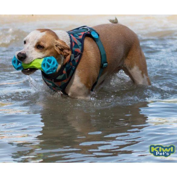 TPR csont formás játék, vízen lebegő, sípoló, jutifalat rejtő 18 cm