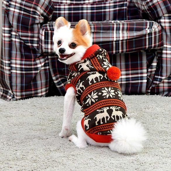Puppia téli mintás pulcsi