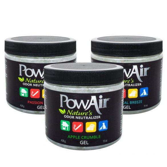 PowAir szagsemlegesítő gél