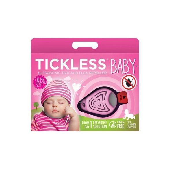 Tickless Ultrahangos kullancsriasztó baby pink