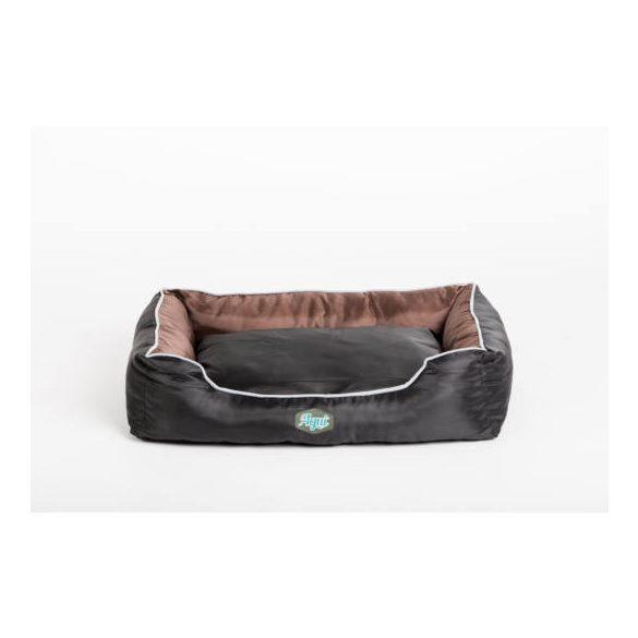 Agui waterproof bed fekete/barna 75x58x19