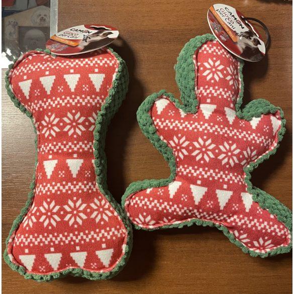 Sípolós karácsonyi plüssök
