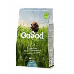 Goood szárazeledel mini junior (kistestű kölyök) - szabadon tartott bárány és fenntartható pisztráng 2 féle kiszerelésben AKCIÓ! AJÁNDÉK JUTALOMFALAT 08.05-ig!
