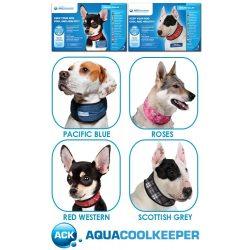 Aqua Coolkeeper hűsítő nyakörvek