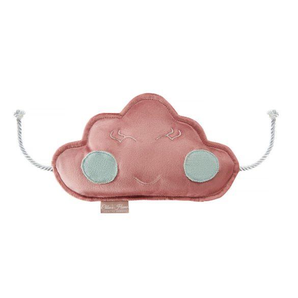 Felhőcske zörgős kutyajáték pink