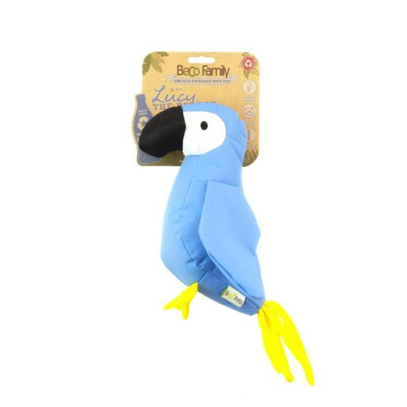 Beco puha játekfigura - Lucy, a papagáj